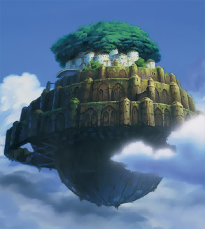 Hayao Miyazaki ChateauDansLeCiel